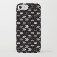 arrows iPhone & iPod Cases featuring Arrows by Priscila Peress