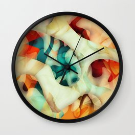 Pattern Number 28 Wall Clock