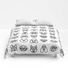 CUTE DOGS / PUPPIES PATTERN Comforters
