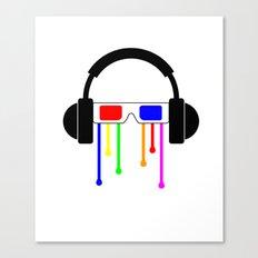 Technicolor tears  Canvas Print
