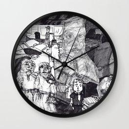 Dangerous City Wall Clock