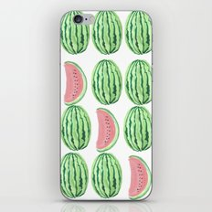 water melon works iPhone & iPod Skin