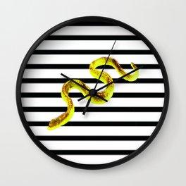 ssssssstripe II Wall Clock