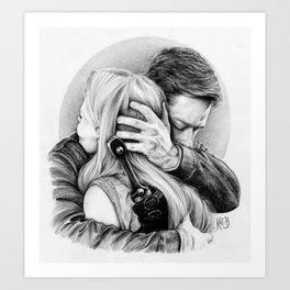 Daddy Charming Art Print