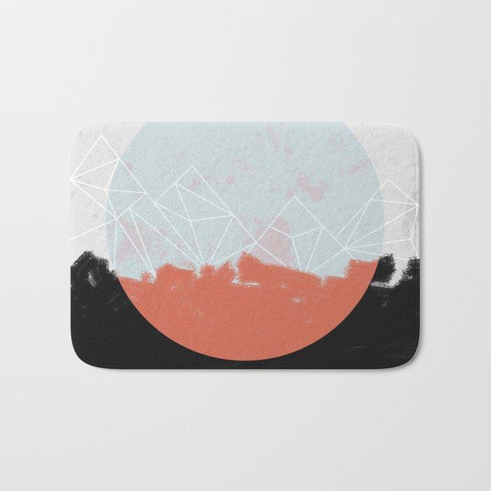 Landscape Abstract Bath Mat