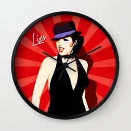 Liza Minnelli - Cabaret - Pop Art Wall Clock