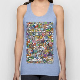 pokeman Unisex Tank Top
