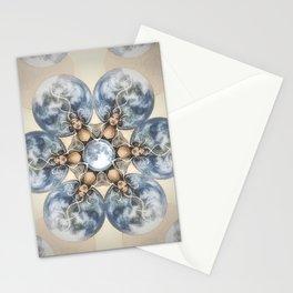 Sacred Space // Earth Moon Women Sisterhood Unity Peace Healing Energy Magic Feminine Feminist Stationery Cards