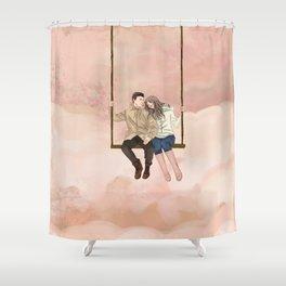 My Valentine II Shower Curtain