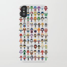 THE ULTIMATE 'AVENGER'S' ROBOTIC COLLECTION iPhone Case