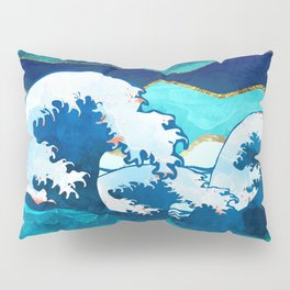 Stormy Waters Pillow Sham