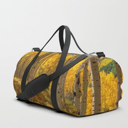 Autumn Aspen Forest Aspen Colorado Duffle Bag