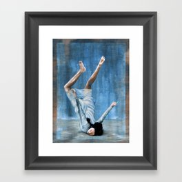 Almost Blue Framed Art Print