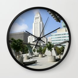 City Hall - 'Lost' Angeles Wall Clock