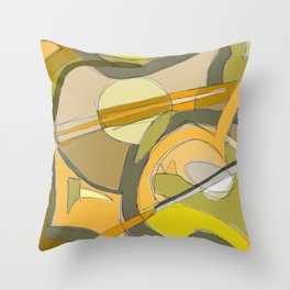 Three Scores And A Hen Throw Pillow