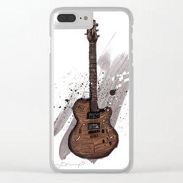 Western guitar Clear iPhone Case