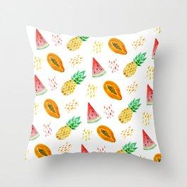 juicy Throw Pillow