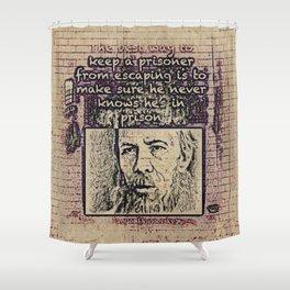 Dostoevsky Shower Curtain