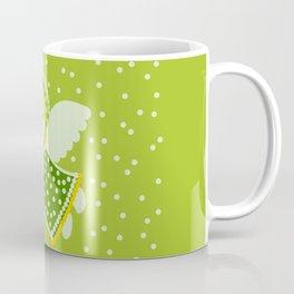 Angel on the green Coffee Mug