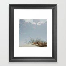 nature x civilization Framed Art Print