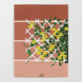 Black-Eyed Susans on Browns Poster