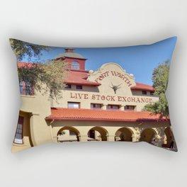 Fort Worth Live Stock Exchange Rectangular Pillow