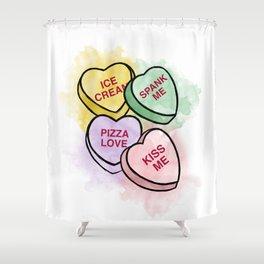 Sweethearts love Shower Curtain
