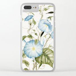 Morning Glories Clear iPhone Case