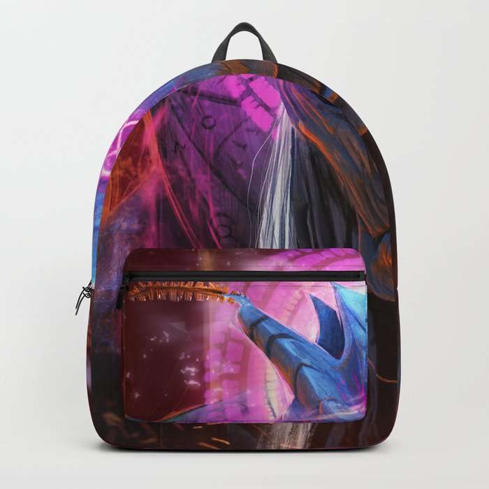 moth the spirit of the mountain Backpack