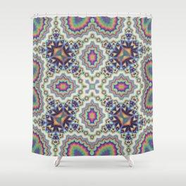 Ethereum Mosaic No1 Shower Curtain