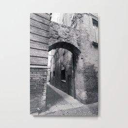 Embellishing Arch Metal Print