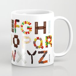 Candy Alphabet Coffee Mug
