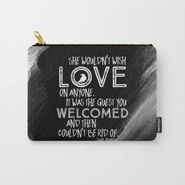 6 of Crows Book Quote design Carry-All Pouch