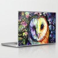 vertigo Laptop & iPad Skins featuring Vertigo by Amanda Kraenzle