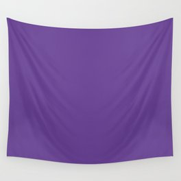 Deep Ultra Violet 2018 Fall Winter Color Trends Wall Tapestry
