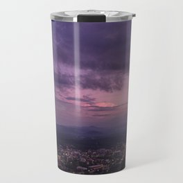 Asheville Stormy Nights Passing By Travel Mug