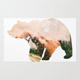 Bear.  Rug