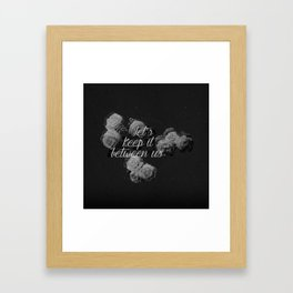 Intimacy Framed Art Print