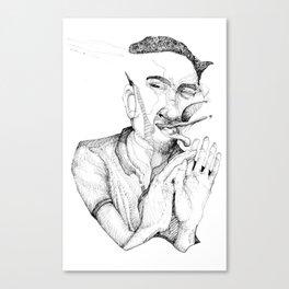 Punch Canvas Print