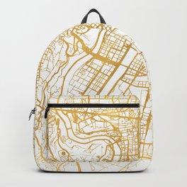 LYON FRANCE CITY STREET MAP ART Backpack