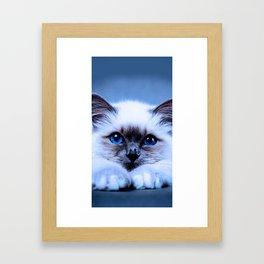 Depend on you Framed Art Print