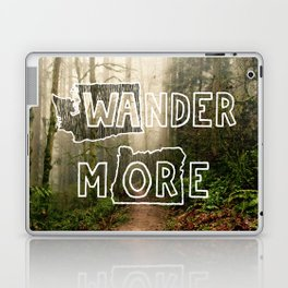 Wander More - Forest Laptop & iPad Skin