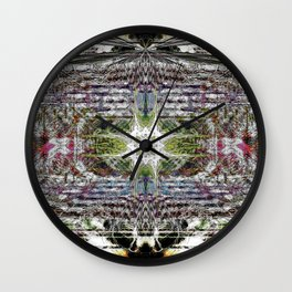 Psychedelic Projections Wall Clock