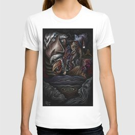 """""""Faces In Dark Water"""" T-shirt"""