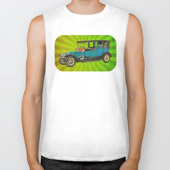 Vintage Car 02 Biker Tank