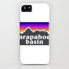 Arapahoe Basin Colorado A Basin Ski Snowboard Resort Keystone Loveland iPhone Case