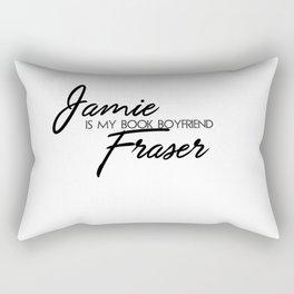 Jamie Fraser Book Boyfriend Rectangular Pillow