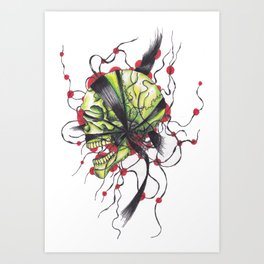 Ghost From the Rising Sun Art Print