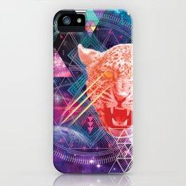 Intergalactic Leopard iPhone Case