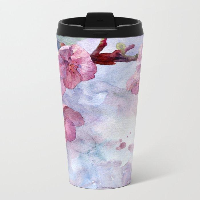 """""""Sakura"""" Metal Travel Mug"""